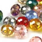 Crystal beads - Faceted Discs 4mm